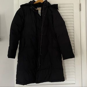 L.L. Bean Women's Black Coat